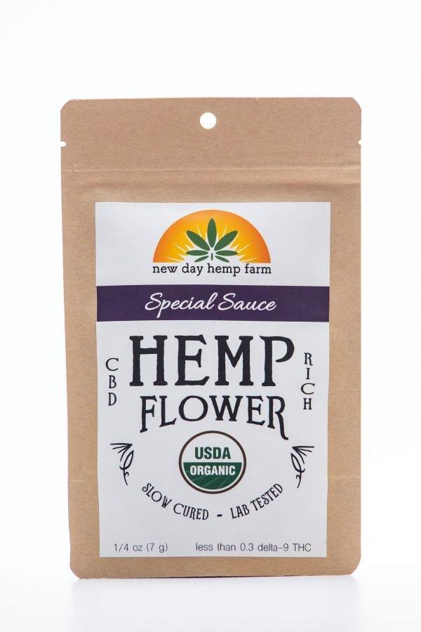 1 Gram New Day Hemp Farm Special Sauce CBD Hemp Flower