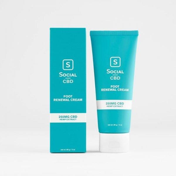 Social Foot Renewal CBD Cream