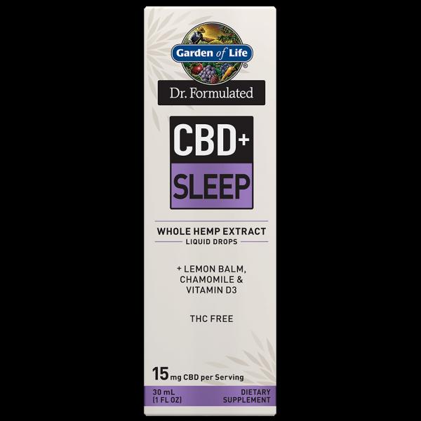 Garden of Life CBD+ Sleep Liquid Drops