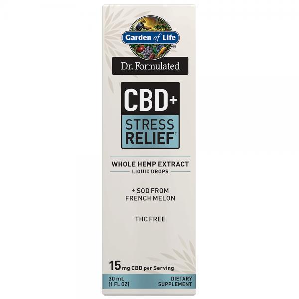 Garden of Life CBD+ Stress Relief