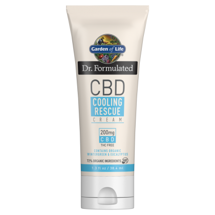 Garden of Life Dr. Formulated CBD Cooling Rescue Cream 200mg