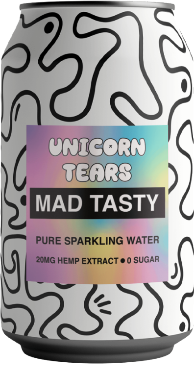 Mad Tasty CBD Sparkling Water