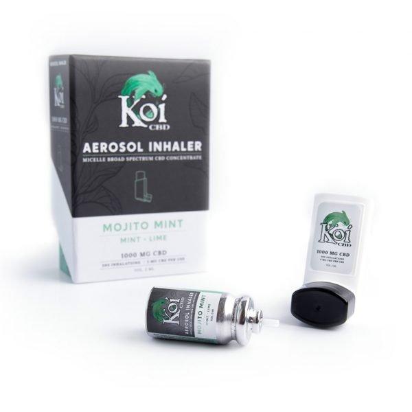 Koi Hemp Extract | CBD Inhaler Mojito Mint