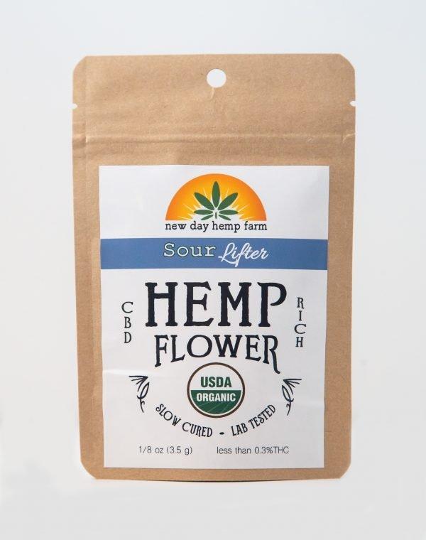 3.5 g New Day Hemp Farm Sour Lifter Artisan CBD Hemp Flower