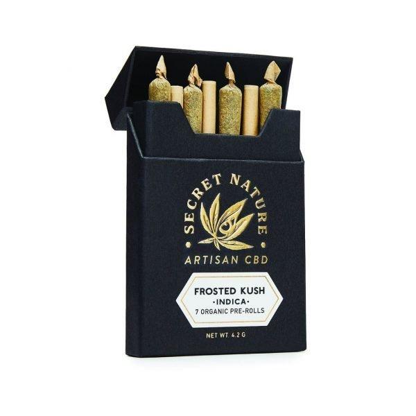 Secret Nature 7-Pack Pre-Rolled CBD Hemp Joints