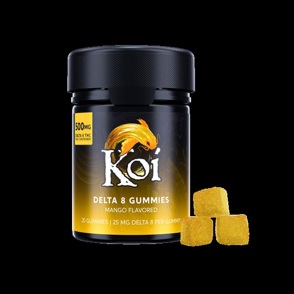 KOI Delta 8 THC Gummies Mango
