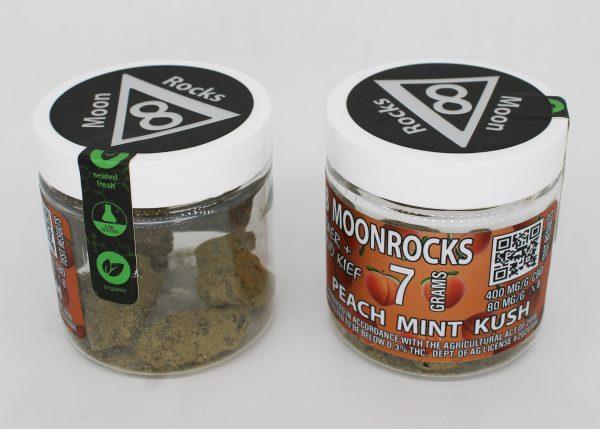 Delta 8 Moon Rocks 7 grams Peach Mint Kush