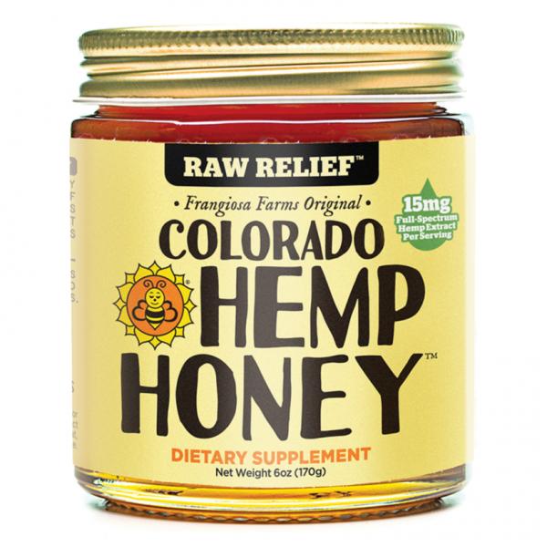 Colorado Hemp Honey CBD Honey Jar 6oz