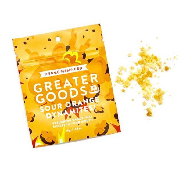 Greater Goods Sour Orange CBD Dynamites!