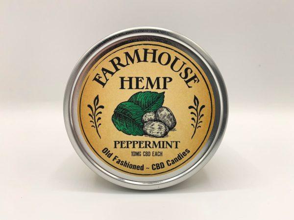 Farmhouse Hemp 15ct Peppermint CBD Hard Candies