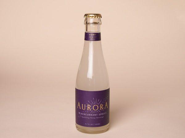 Aurora CBD Elixirs 4 Pack Blackcurrant Spruce