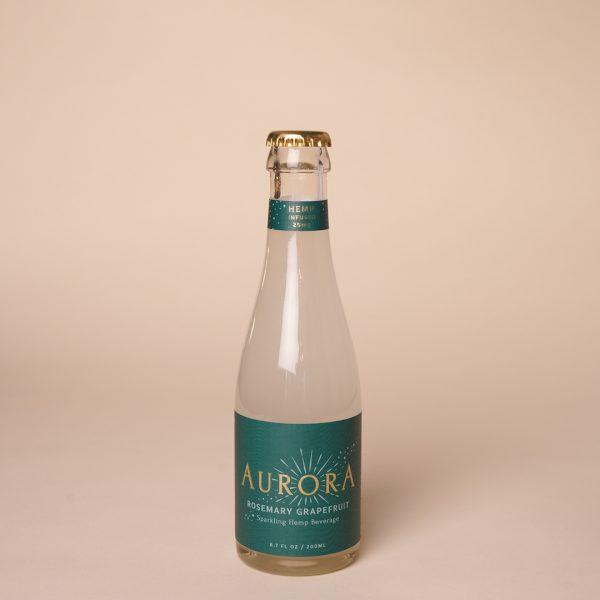 Aurora CBD Elixirs 4-Pack Rosemary Grapefruit