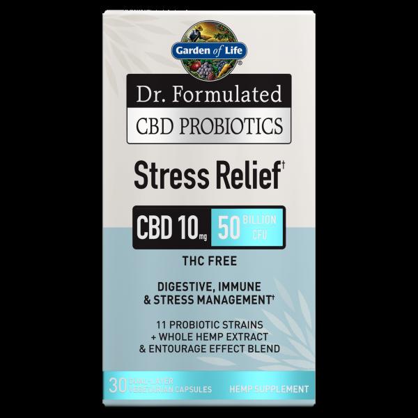 Garden of Life CBD Probiotics Stress Relief