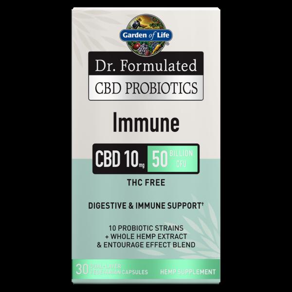 Garden of Life CBD Probiotics Immune