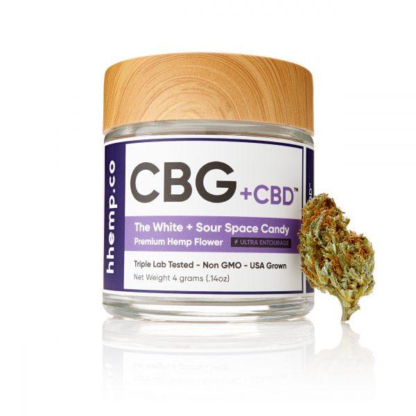 H Hemp Sour Space Candy CBD + CBG Flower