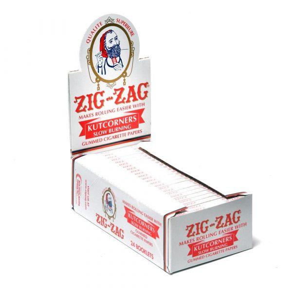 ZIG ZAG Slow Burning Rolling Papers 70mm - Kutcorners