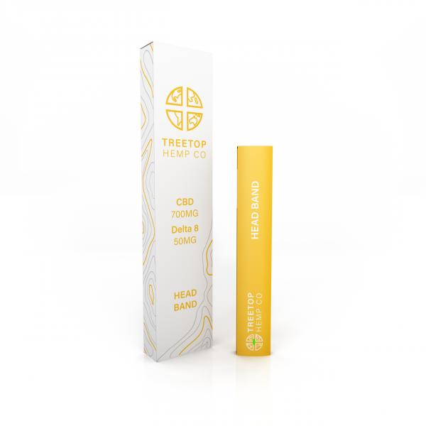Treetop Hemp Head Band CBD + Delta 8 THC Disposable Vape Pen