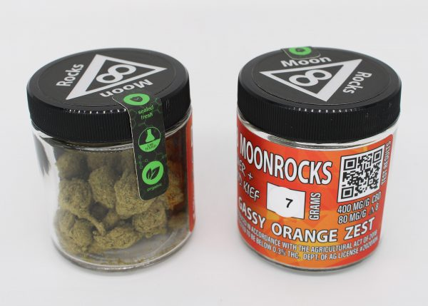 Delta 8 Moon Rocks 7 Grams Gassy Orange Zest