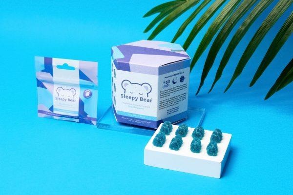 Sleepy Bear 3-Pack Nighttime Gummy Formula (CBD/CBN/Melatonin)