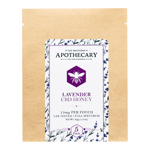 Brother's Apothecary Lavender | CBD Honey 5 Pack