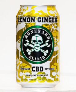 Boneyard Lemon Ginger CBD Elixer 25mg