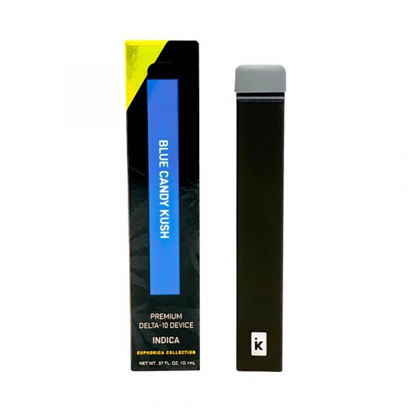 Delta Effex Blue Candy Kush Premium Delta 10 Disposable Vape Pen