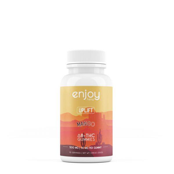 Enjoy Hemp Uplift Mango Delta 8 THC Gummies 10ct