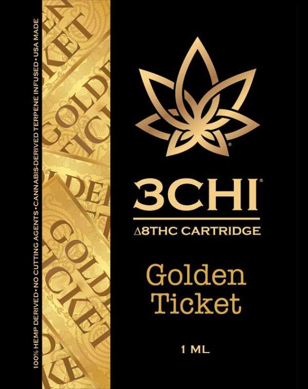 3-Pack 3Chi Delta 8 THC Vape Cartridge 1ML - Bundle and Save $