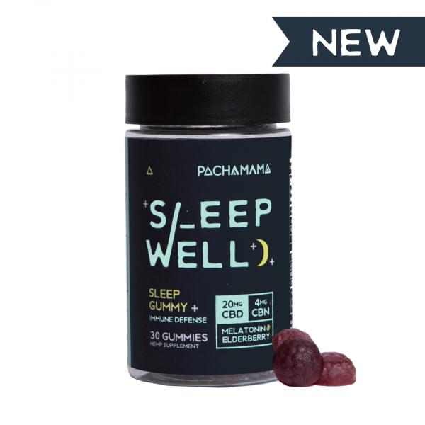 Pachamama Sleep Well CBD Gummies - 30 count