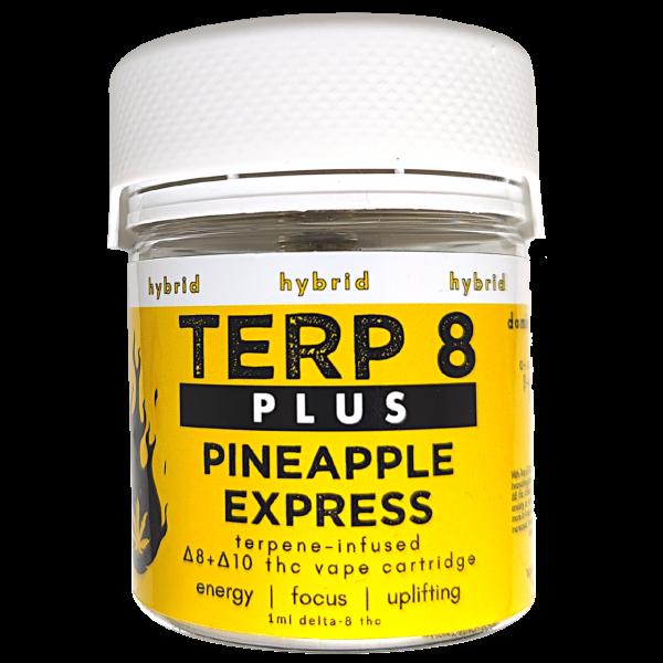 Terp 8 PLUS // Pineapple Express Delta-8 + Delta-10 THC Vape Cartridge