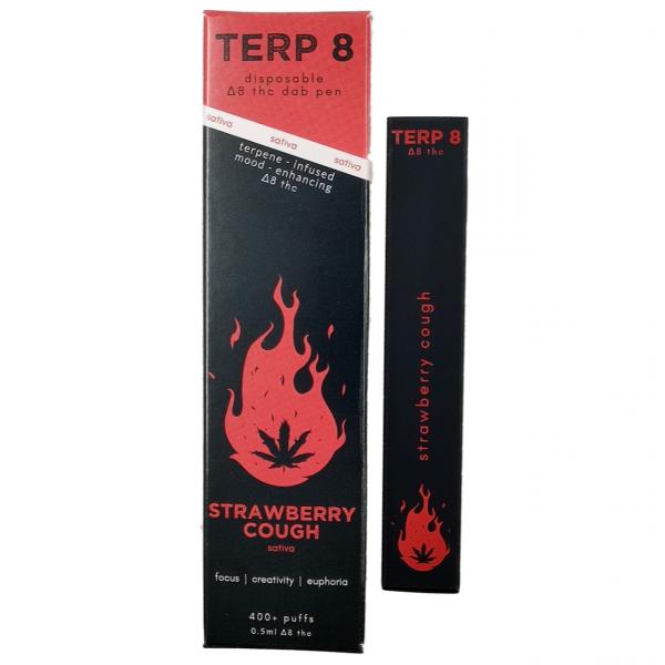 Terp 8 Strawberry Cough Disposable Delta-8 Dab Pen