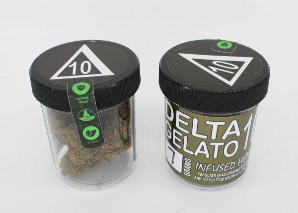 Delta 10 THC Hemp Flower Gelato 7 Grams