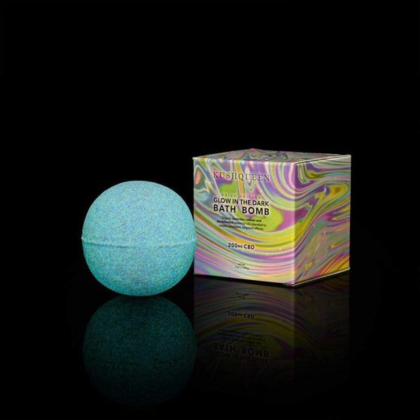 Kush Queen Pride Edition Glow CBD Bath Bomb