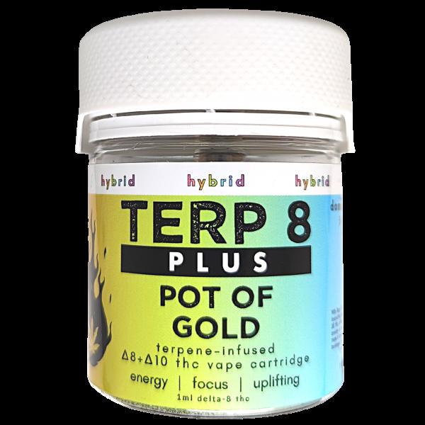 Terp 8 PLUS // Pot of Gold Delta-8 + Delta-10 THC Vape Cartridge